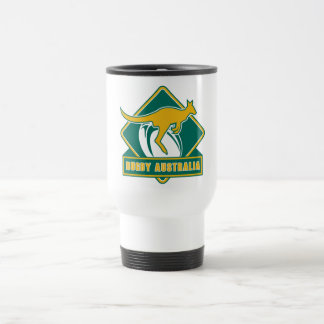 rugby australia kangaroo wallaby travel mug