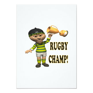 Rugby Champ Card