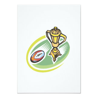 Rugby Champion 2 5x7 Paper Invitation Card