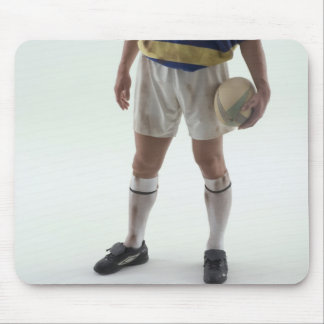 Rugby player mouse pad