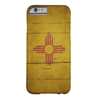 Rugged Wood New Mexico Flag Barely There iPhone 6 Case