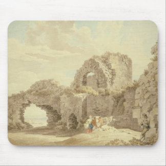 Ruins of Pevensey Castle (w/c on paper) Mouse Pad
