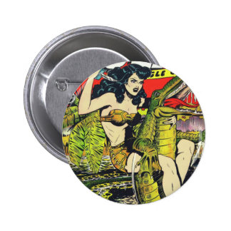 Rulah-Vintage Comic Book 6 Cm Round Badge
