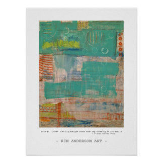 Rule # 1  abstract art posters