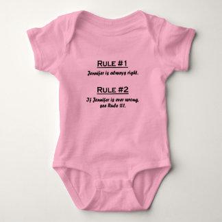 Rule Jennifer Baby Bodysuit