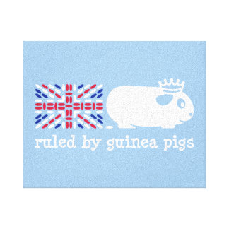 Ruled by Guinea Pigs Canvas Print