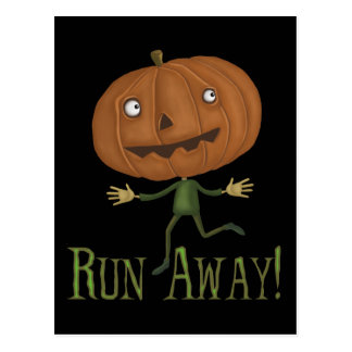 Run Away Postcard