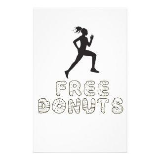 run donuts stationery