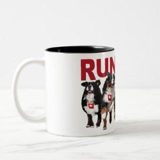 Run Free Berner Coffee Mug