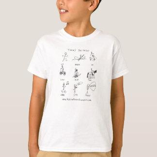 Run, Paddle, Ski Kid's T-Shirt