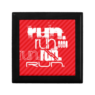 Run; Scarlet Red Stripes Gift Box