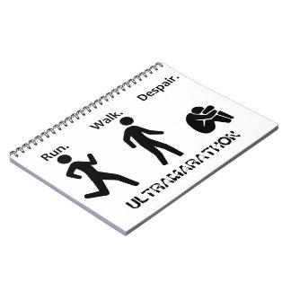 Run. Walk. Despair. Ultramarathon Notebook