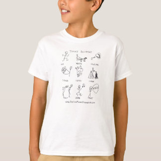 Run, Walk, Imagine Kid's T-shirt