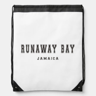 Runaway Bay Jamaica Drawstring Bag