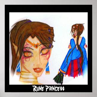 Rune Princess Poster
