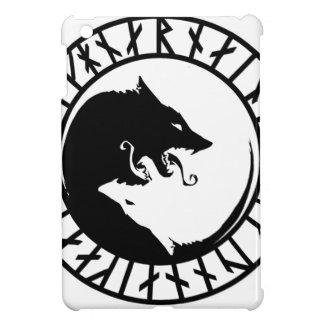 Runic Dire Wolf viking norse nordic runes iPad Mini Cover