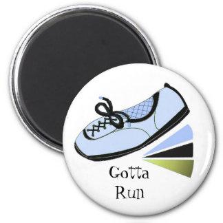 Runner - Gotta Run Fridge Magnets