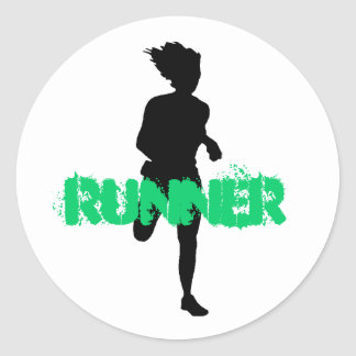Runner Stickers