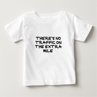 Runner's Extra Mile (strong black) Baby T-Shirt