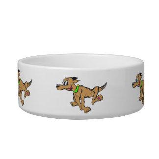 Running Dog Cartoon Pet Bowl
