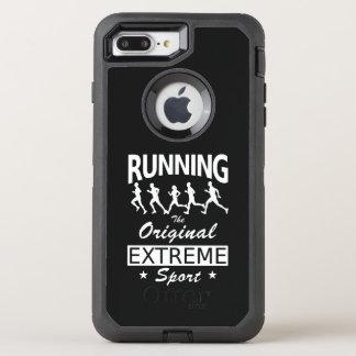 RUNNING, the original extreme sport (wht) OtterBox Defender iPhone 8 Plus/7 Plus Case