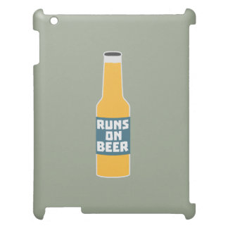 Runs on Beer Bottle Zcy3l Cover For The iPad 2 3 4