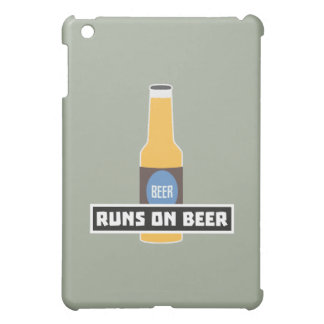 Runs on Beer Z7ta2 Cover For The iPad Mini