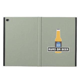 Runs on Beer Z7ta2 Powis iPad Air 2 Case