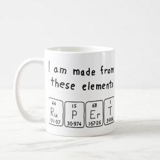 Rupert periodic table name mug