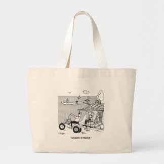 Rural Cartoon 3229 Large Tote Bag