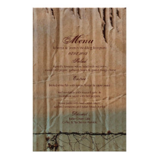 Rural Farm fence bird western barn wedding Stationery