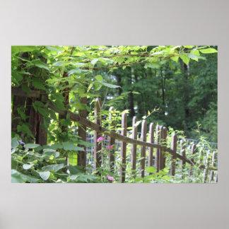 Rural Fenceline Print