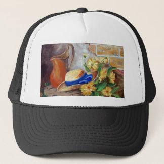 Rural life trucker hat
