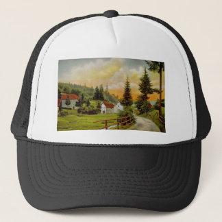 Rural motive Hat