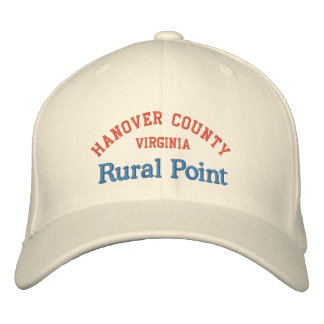 Rural Point Hanover County Embroidered Hat