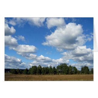 Rural Summer Landscape Card