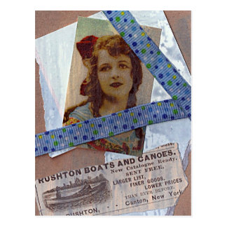 Rushton Boats and Canoes ATC Postcard