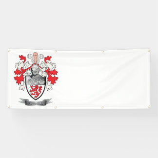 Russell Coat of Arms Banner