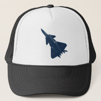 RUSSIA FIGHTER JET TRUCKER HAT