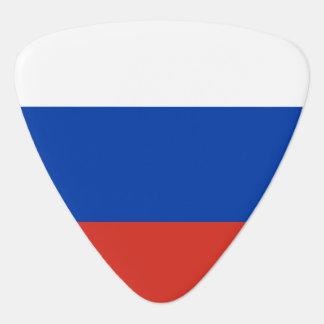 Russia flag guitar pick