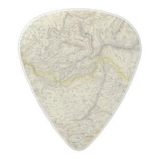 Russia in Asia, Chinese Empire Acetal Guitar Pick