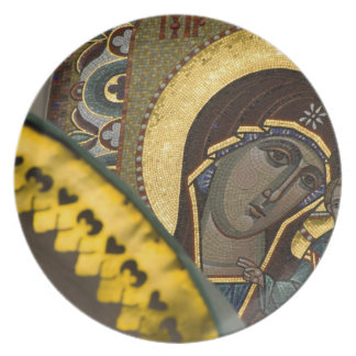 Russia, Moscow, Red Square. Our Lady of Kazan Party Plate