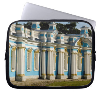 Russia, Pushkin. Portion of Catherine Palace. Laptop Sleeve