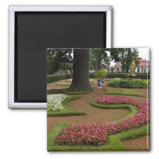 Russia, St. Petersburg, Peterhof Palace aka Square Magnet