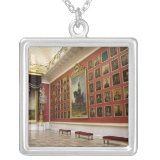 Russia, St. Petersburg, The Hermitage (aka 5 Silver Plated Necklace