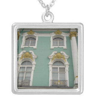 Russia, St. Petersburg, The Hermitage (aka 6 Silver Plated Necklace