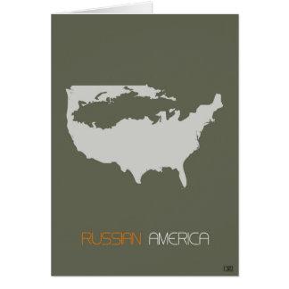 Russian America Card