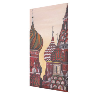 Russian Architecture Gallery Wrap Canvas