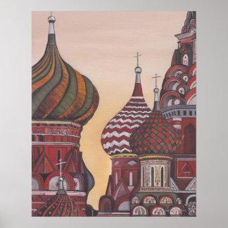Russian Architecture Poster