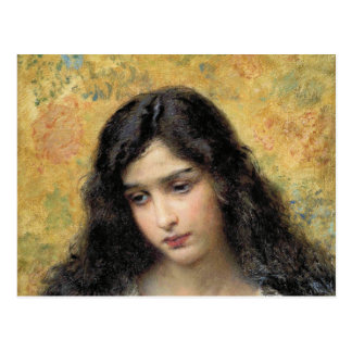 Russian Beauty by Konstantin Makovsky Postcard